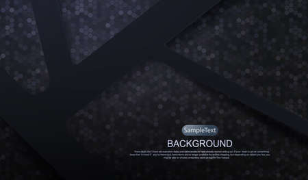 Dark texture background with mosaic, geometric abstract figure. 向量圖像