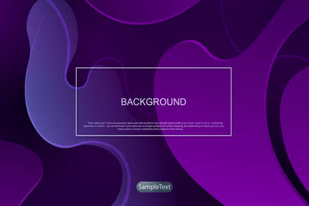 Violet dark background with gradient, abstract oval shapes, subtle light stripes.