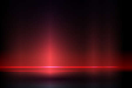Dark red composition with a gradient, shining, luminous horizontal strip