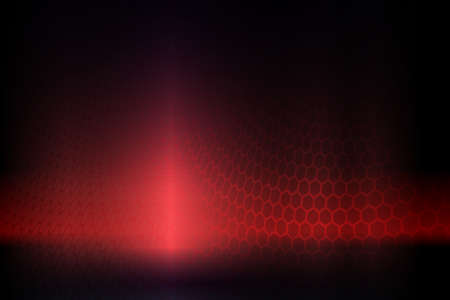 Dark red composition with a gradient, curved mesh grid