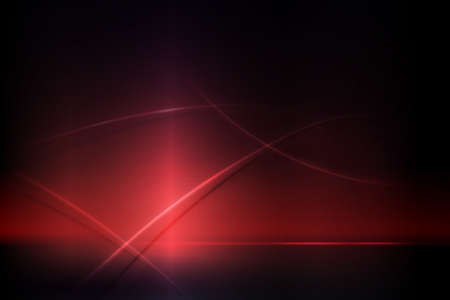 Dark red composition with a gradient, curved stripes with shadow