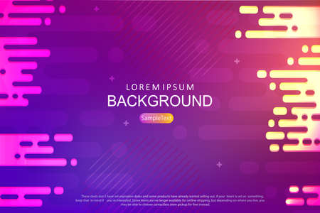 Abstract background with a gradient of blue and purple, the silhouette of horizontal rounded stripes
