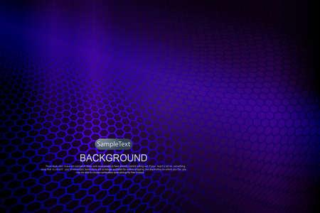 Dark background with a gradient, mesh silhouette lattice in blue hue 向量圖像