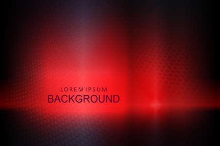 Dark red background with gradient, mesh grid silhouette 向量圖像