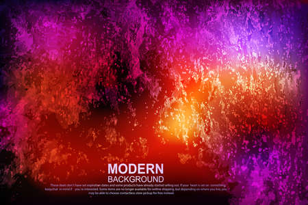 Abstract textured background of red and purple shades, fiery chaotic multicolored ripple pattern