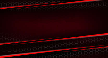 Abstract textured dark design with gradient, subtle red stripes with mesh lattice
