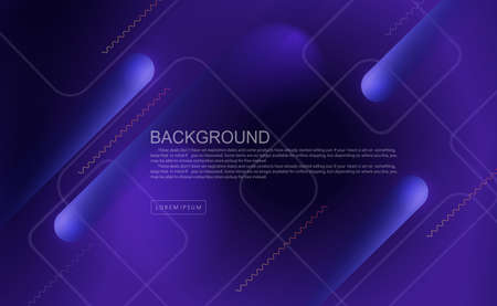 Blue dark geometric background with oblique stripes with a gradient, light square frames 免版税图像 - 161701822