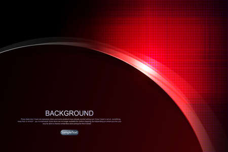 Abstract dark textured background in red shade with a silhouette of a round frame with glitter 免版税图像 - 161701823