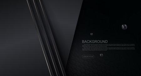 Dark gradient design, gray slanting curtains with subtle glitter edging 免版税图像 - 161895163