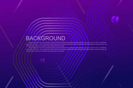 Geometric background with a gradient of blue and purple colors, polygonal frames, oblique stripes 免版税图像 - 162100846