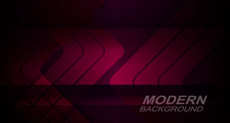 Dark design with gradient burgundy color, silhouettes of arrows