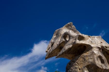 boulder: large boulder in the park