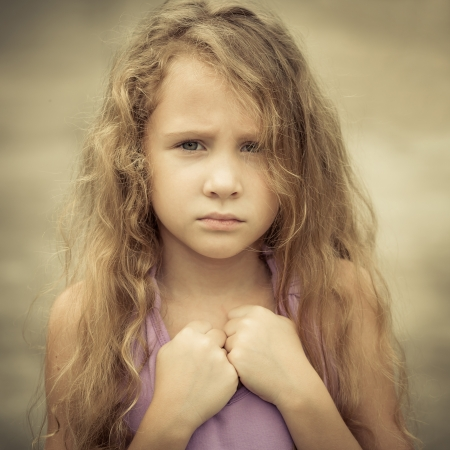 悲しい子の肖像