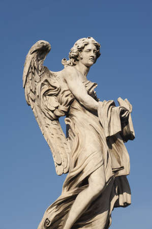 bernini: One of Bernini Angels on the ponte Sant