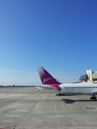 avia: Vim Avia Boeing 757-200 at the Sochi International Airport, 2014