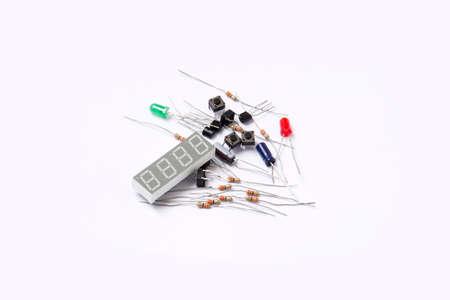 composant ?lectrique: Kit de composants �lectriques pour les installations