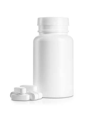 Medical bottle with pills
