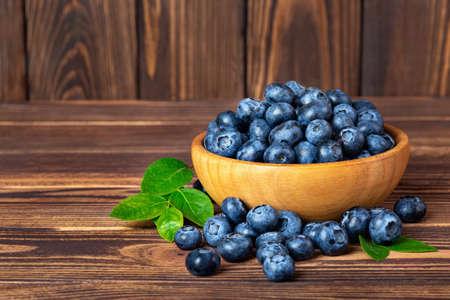 fresh blueberries in bowl