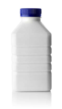 plastic disposable bottle for dairy product