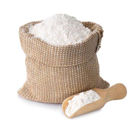 wheat flour in sack