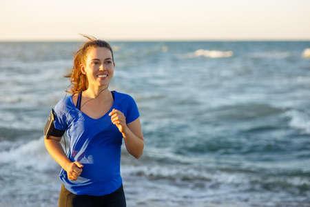 Fitness woman running Zdjęcie Seryjne