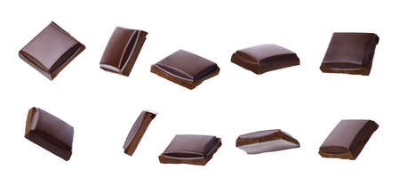 collection of chocolate pieces