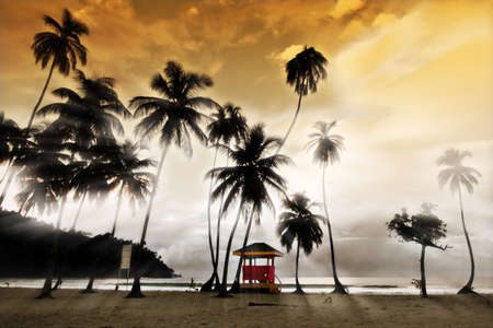 Maracas Beach - Lifeguard Hut Trinidad and Tobago