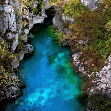 Valbona River in Albania