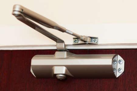 hinge: Automatic hydraulic leaver hinge door closer holder