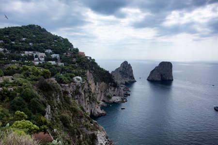 capri: Capri sea Stock Photo