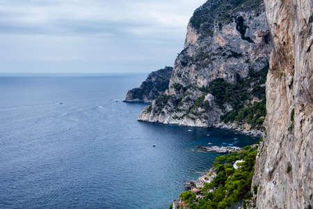 capri: Capri coast Stock Photo
