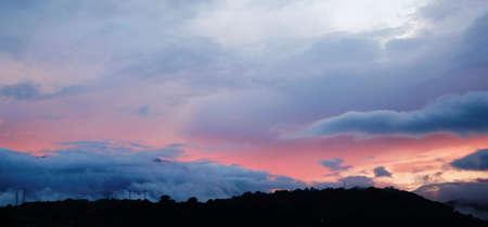 panoramas: twilight sky