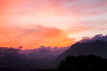 panoramas: sunset