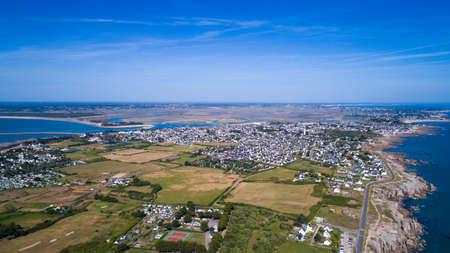 ロワール アトランティック県のル ・ クロワジックの空撮ポイントします。
