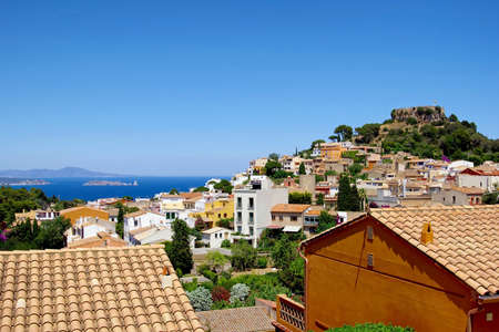 Photography of Begur village in Catalonia