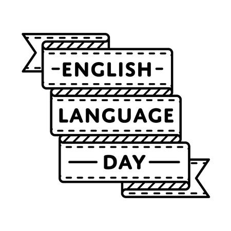English language day greeting emblem royalty free cliparts vectors english language day greeting emblem stock vector 70384026 m4hsunfo