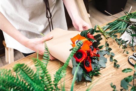 Flower composition from professional florist