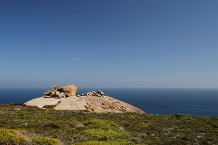 remarkable: The Remarkable Rocks Stock Photo