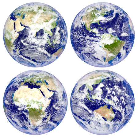 eurasia: Planet Earth, North and South America, Eurasia, Africa, Australia
