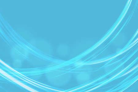 azul turqueza: Resumen de fondo azul con líneas onduladas Foto de archivo