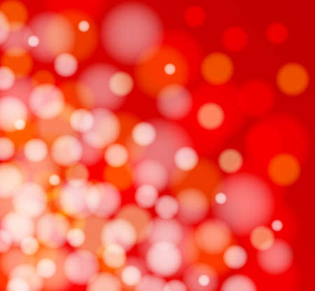 defocus: Vector Defocus Light. Red abstract glowing background