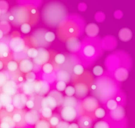 Vector pink light defocus background
