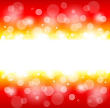 lighting technique: Bright shining red blurred festive background. Vector illustration Illustration
