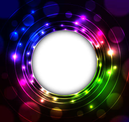 space for writing: Abstract background. Shining colorful background with empty space for writing
