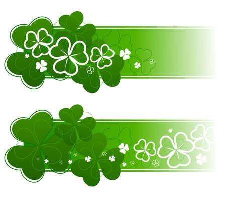 variation: Variation St. Patricks Day decoration. Vector illustration