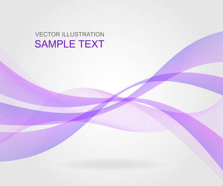 Abstract wavy background. Vector illustration