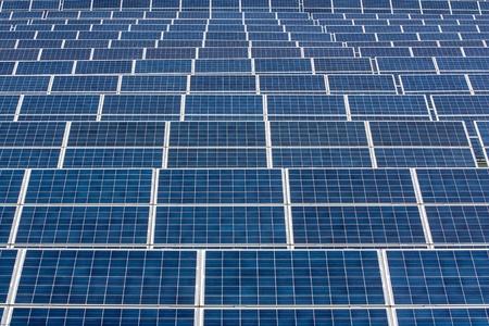 Infinite series of solar panels