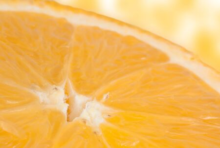 Detail view of a sliced orange photo