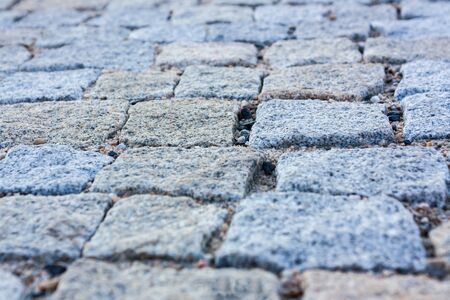 texture of stone pavement sidewalk photo