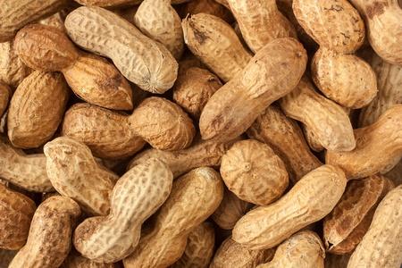 Peanut close up background